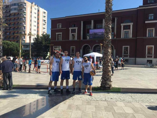 CheBar fiton turneun 3x3 në Durrës