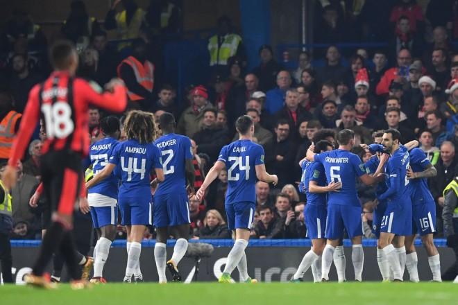 Morata shpëton Chelsean