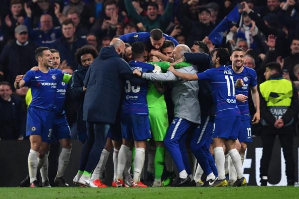 Finale londineze, Chelsea fiton me penallti