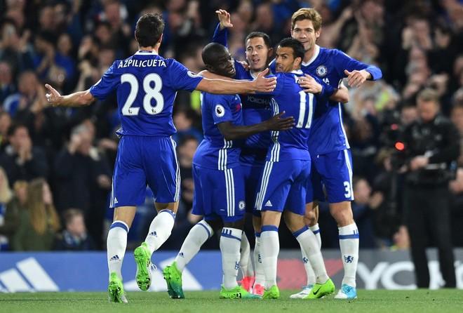 Hazard vendimtar, Chelsea mposht Cityn