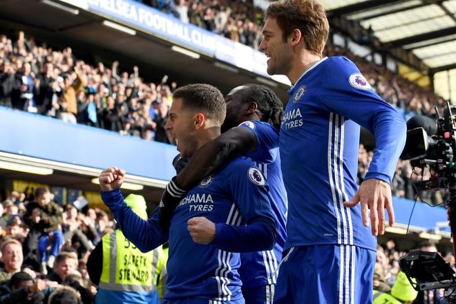 Londra e kaltërt, Chelsea vazhdon marshimin