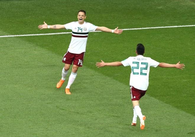 Edhe Meksika në 1/8 e finales