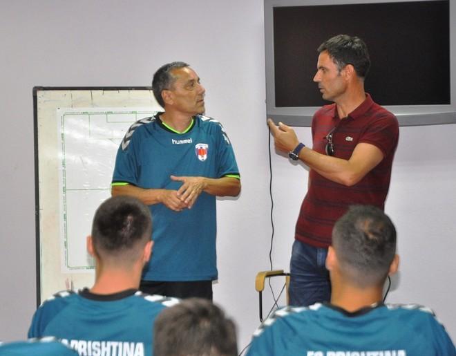Ish trajneri kondicional i Napolit, te Prishtina