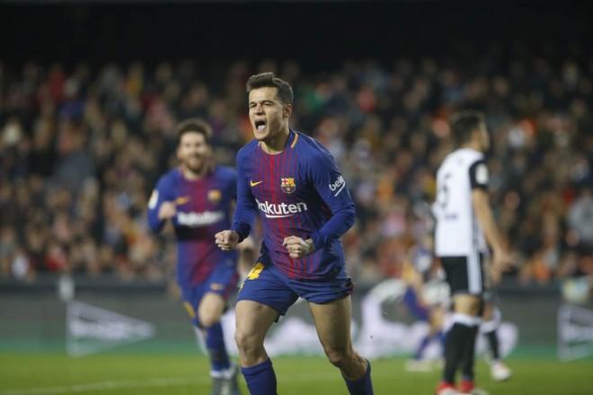 I pari i Coutinhos, Barcelona në finale