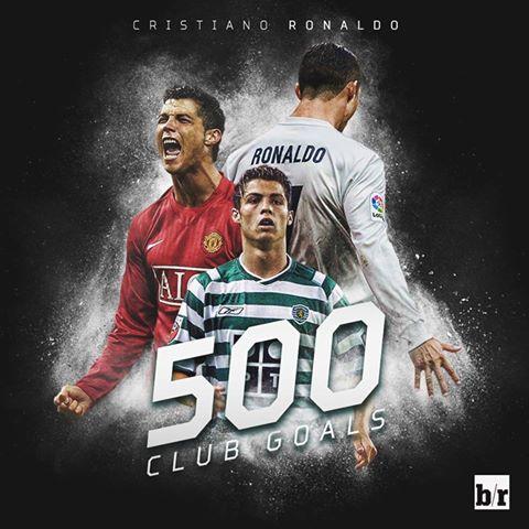 Ronaldo prek 500shin!