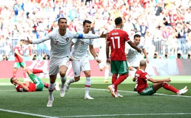 Cristiano Ronaldo eliminon Marokun