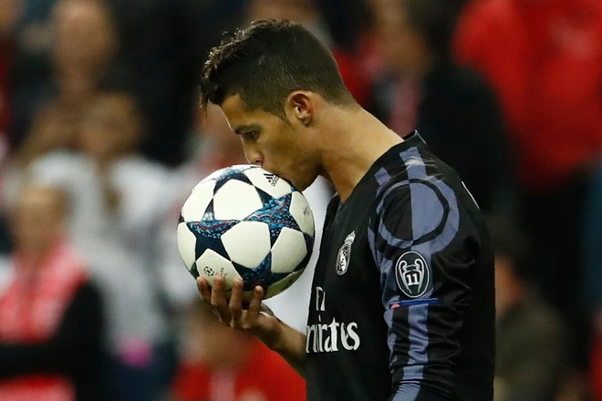 100 golat europian të Cristiano Ronaldos