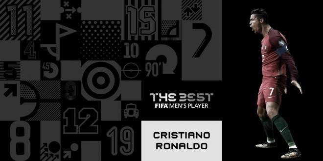 Cristiano Ronaldo, më i miri i vitit 2017