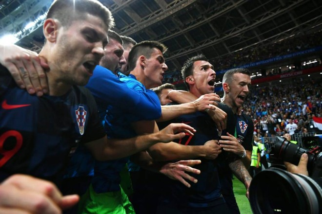 Kroaci historike, në finale