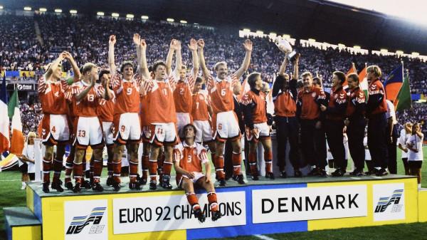 """Danimarka, kampionja """"e ftuar"""" e EURO'92"""