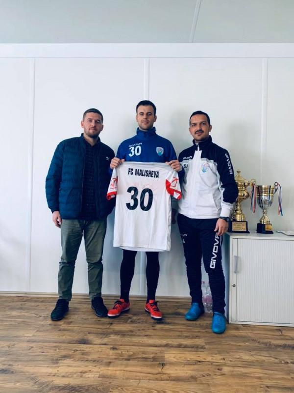 Malisheva transferon futbollistin e Ferizajit