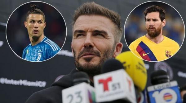Beckham dëshiron transferimin e Messit dhe Ronaldos në Inter Miami
