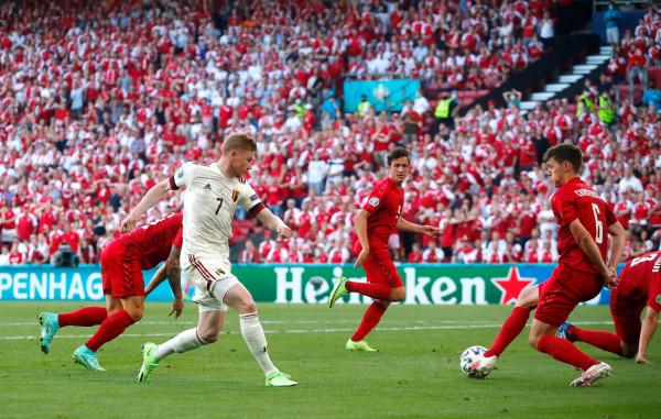Danimarka - Belgjika, notat e lojtarëve