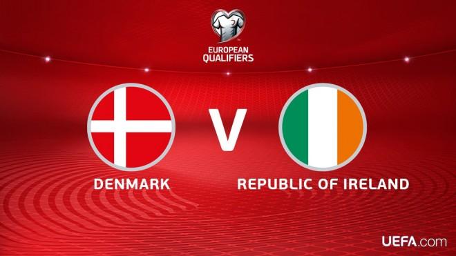 11-shet startuese: Danimarka-Irlanda