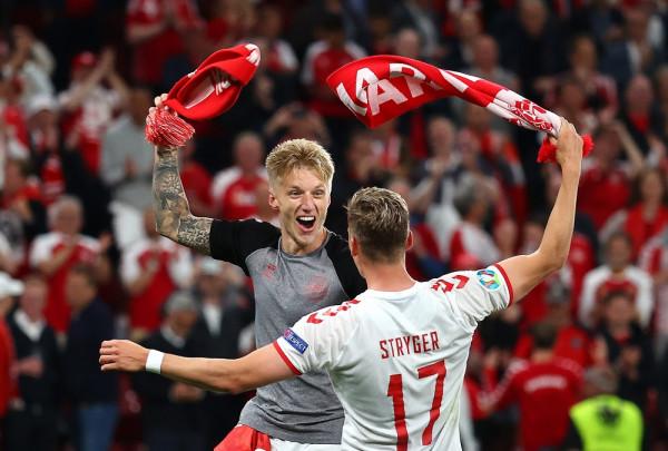 Notat e futbollistëve: Rusia-Danimarka
