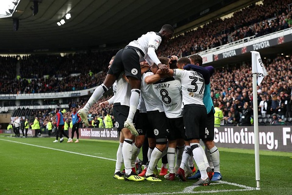 Derby County eliminon Unitedin