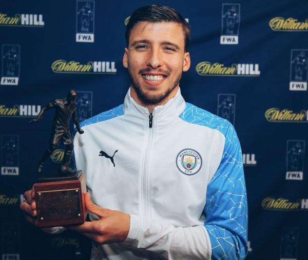 """Ruben Dias, """"FWA Lojtari i sezonit"""" në Premier League"""