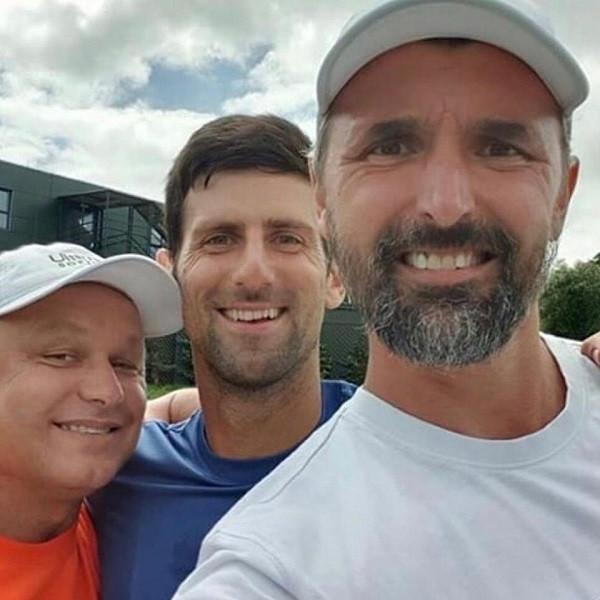 Djokovic merr Ivanisevicin si trajner