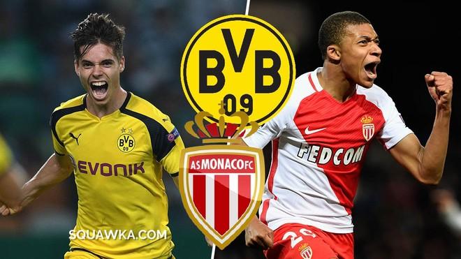 Monaco vs. Dortmund, publikohen skuadrat startuese
