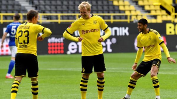 E 800-ta për Dortmundin brilant, në derbin e madh, vetëm një pikë larg liderit