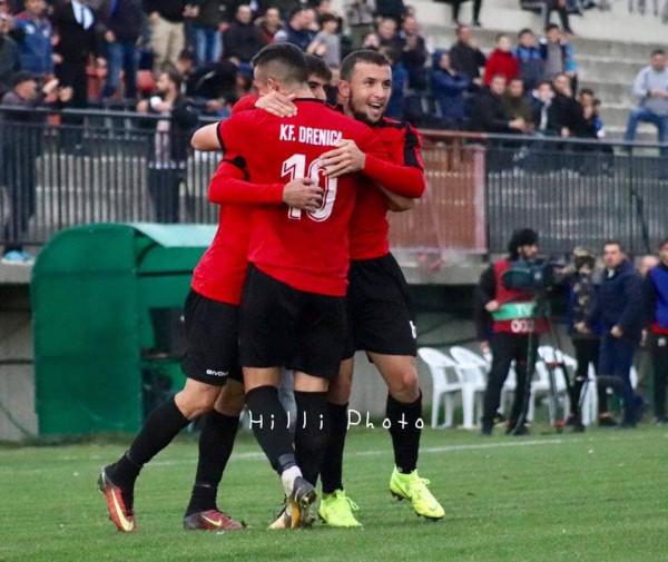 2 penallti, 5 gola në duelin Drenica-Trepça '89