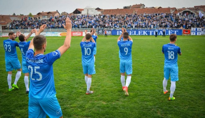 Formacionet zyrtare: Drita - Inter Escaldes