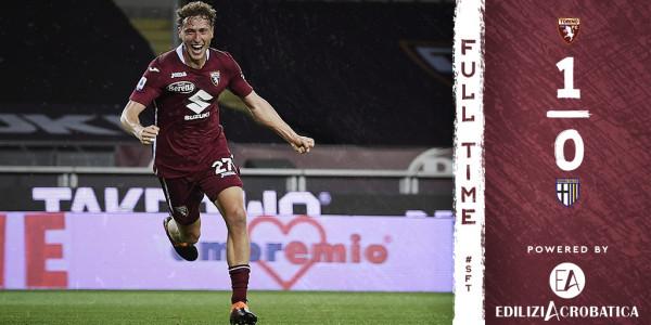 Super Vojvoda, Torino fiton me golin e tij