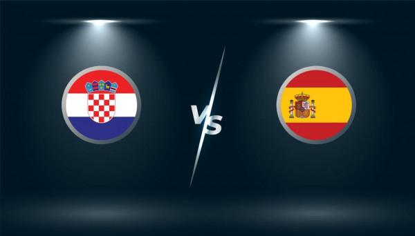 Formacionet zyrtare: Kroacia - Spanja