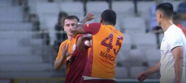 Marcao rrah bashkëlojtarin dhe skuqet, në fitore të Galatës