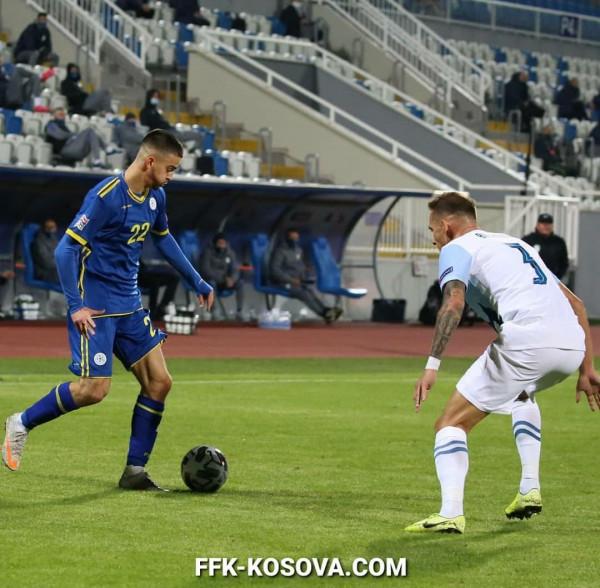 Kosova vs. Sllovenia, notat e ndeshjes
