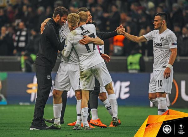 Eintracht ia terron Interit