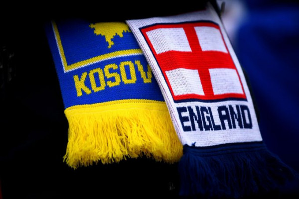 Anglia vs. Kosova, 11-shet startuese