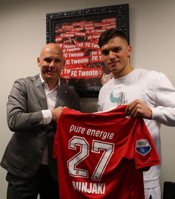 Edhe Enis Bunjaki në Eredivisie