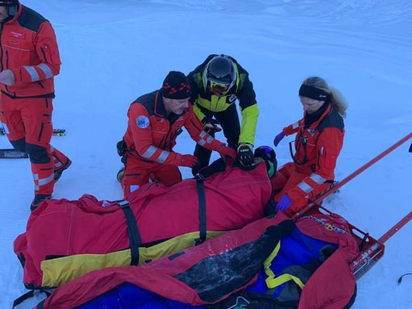 Skiatorja Era Shala e pafat, thyen këmbën para Lojërave Olimpike