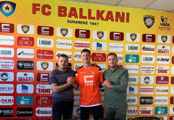 Edhe një transfer te Ballkani