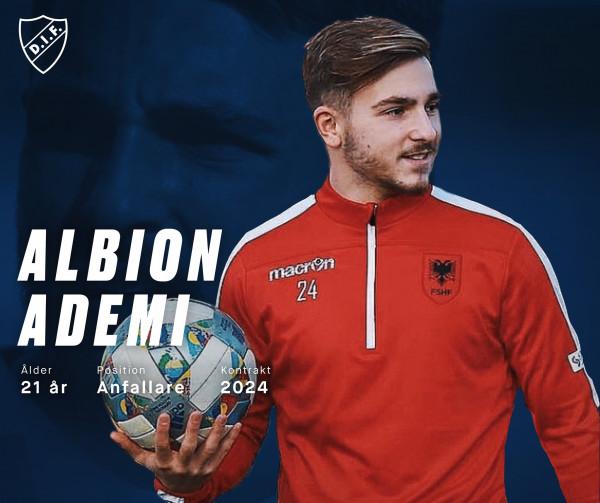 Albion Ademi prezentohet te kampioni i shumëfishtë i Suedisë