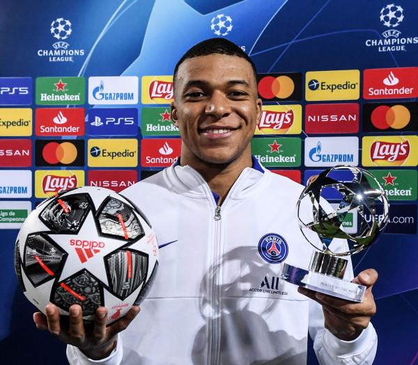 Mbappe më i miri i javës në Champions League