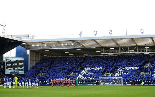 Shenja këndelljeje te Evertoni