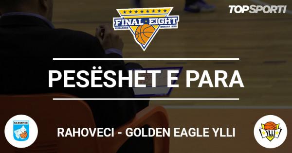 Pesëshet e para: Rahoveci - Golden Eagle Ylli