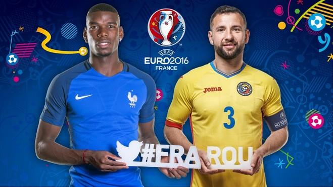Formacionet zyrtare: Francë-Rumani