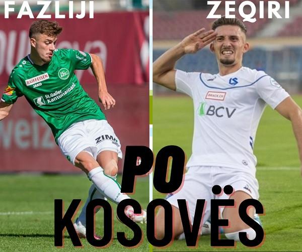 Betim Fazliji dhe Andi Zeqiri i thonë PO Kosovës