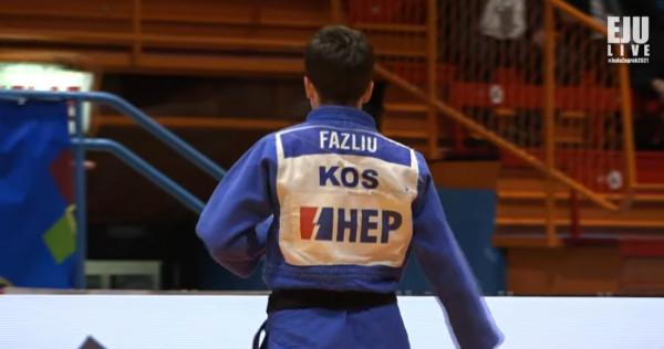 Laura Fazliu e bronztë në Zagreb