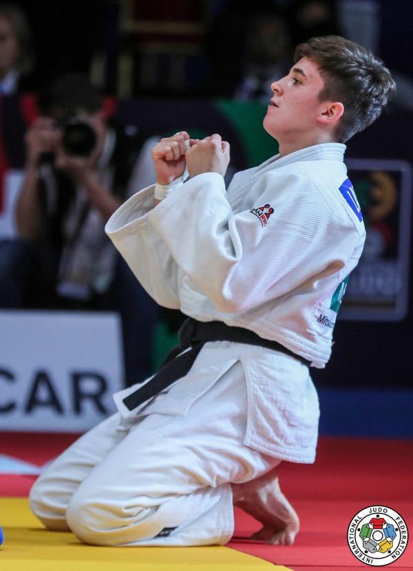 Laura Fazliu e bronztë në Zagreb Grand Prix