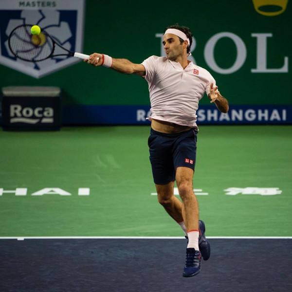 Federer në gj'finale të Shanghai Masters