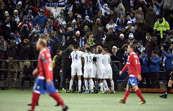 Finlanda historike, për herë të parë në EURO