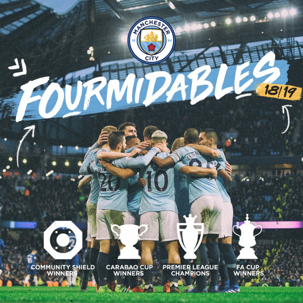 Arritje historike e Manchester Cityt
