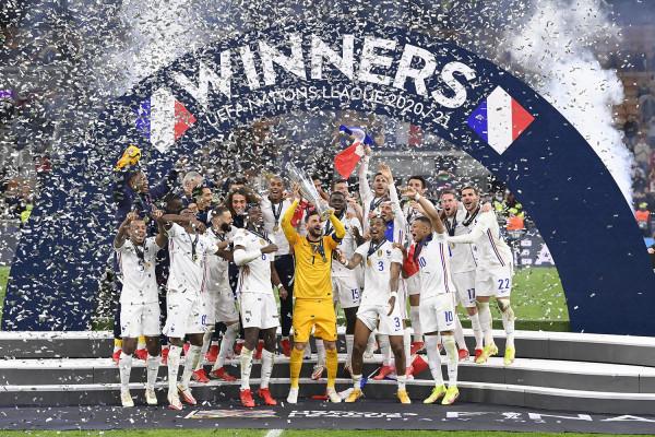 Përsëri me përmbysje! Franca fiton trofeun e Ligës së Kombeve