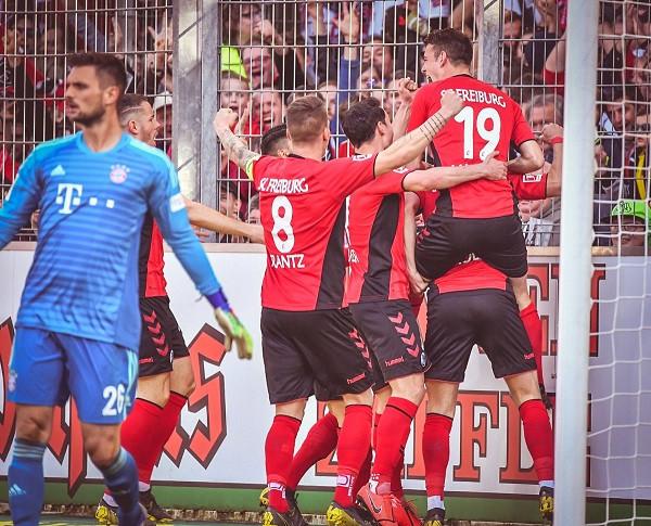 Abrashi ndal Bayernin, Dortmund lider