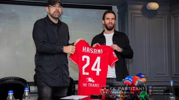 Pagë e majme për Hasanin te Partizani