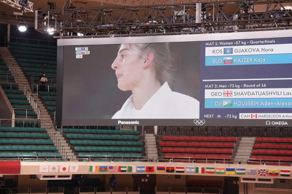 Nora Gjakova në gjysmëfinale, një fitore larg finales